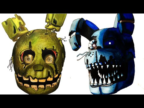 All Of My Five Nights At Freddy's Drawings How To Draw Drawing Lessons Part 3