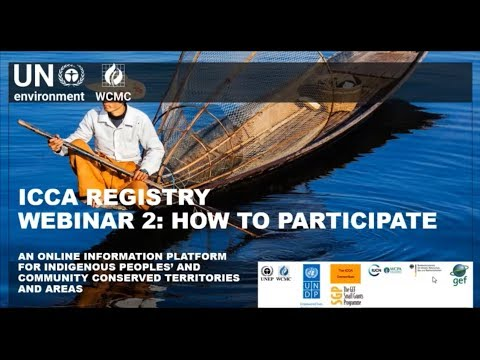 The ICCA Registry: how to participate