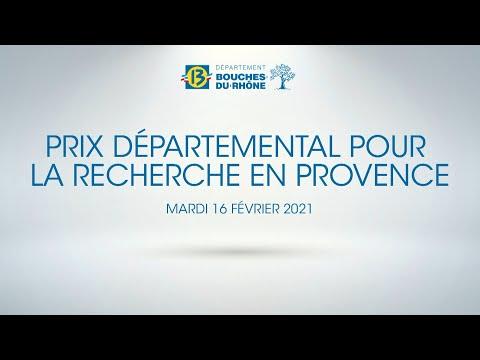 Prix Départemental pour la Recherche en Provence 2020