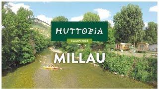 Visite virtuelle du camping Huttopia Millau, dans l'Aveyron