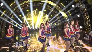 T-ara-Sexy Love 120916 SBS Inkigayo Live
