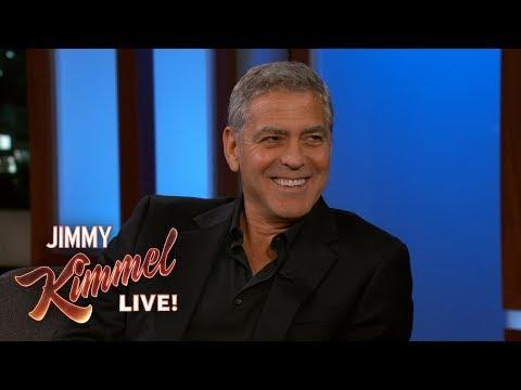 George Clooney's Penis Revenge on Jimmy Kimmel