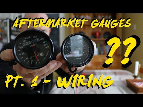 How To Wire Aftermarket Amazon Motorcycle Gauges