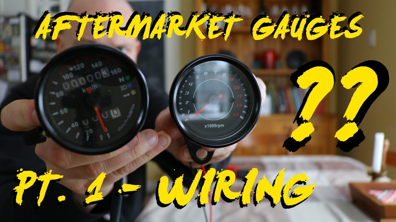 How to wire aftermarket amazon motorcycle gauges Harley Odometer Wiring Harness on