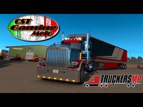American Truck Simulator - EP 35 - Stream - Trucking with friends.