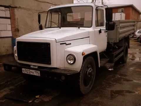 2 Самосвалы ГАЗ САЗ 35071 2012 г шасси ГАЗ 3309 2011 г - YouTube