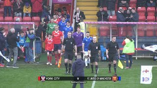 York City 2-0 FC United of Manchester (01/12/2018)