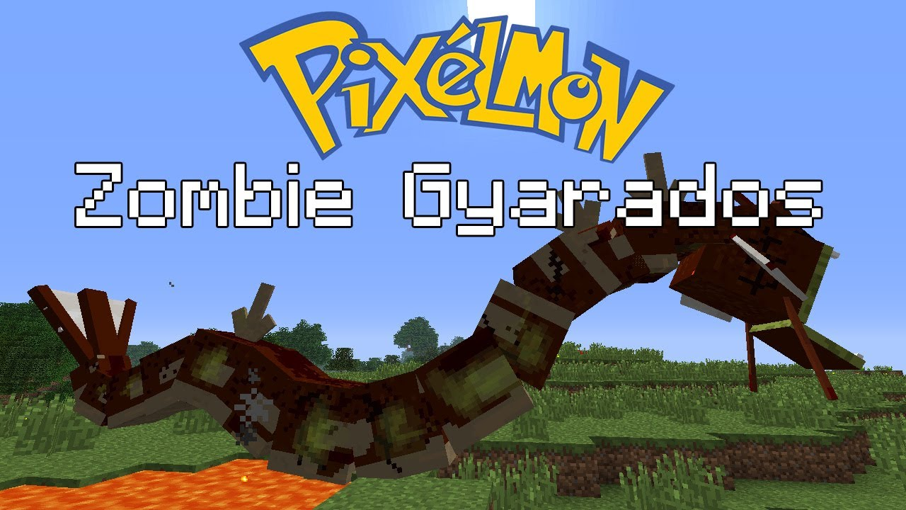 How To Get A Zombie Gyarados In Pixelmon Youtube