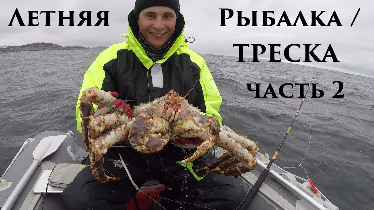 ловля трески на кольском полуострове
