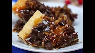 Salted Caramel Pecan Pie Bark