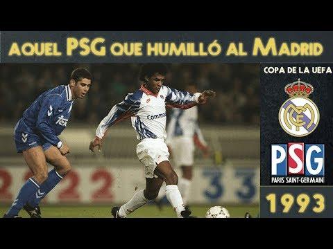 Cuando el PSG humilló al Real Madrid (4-1) | UEFA (1993)