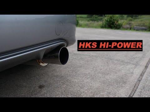 Honda Fit HKS Exhaust