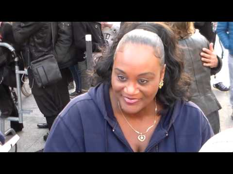 Evelyn THOMAS @ Paris le 8 avril 2015 TOP 50 TV show
