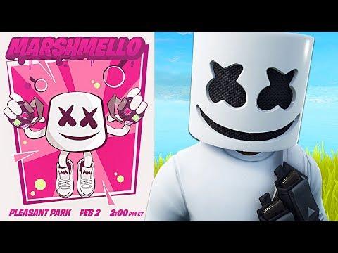 Fortnite Marshmello Event LIVE Concert! (Fortnite Battle Royale)