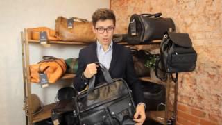 Обзор мужской сумки HADLEY Keyworth