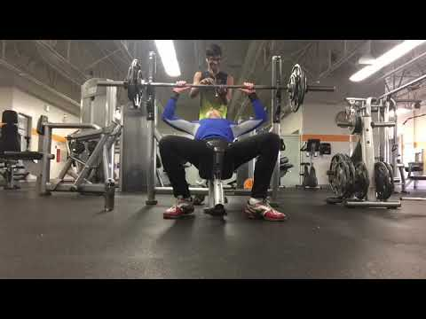 *New Personal Best Bench Press!!!!