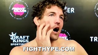 "BEN ASKREN IMMEDIATE REACTION TO KNOCKOUT LOSS TO JAKE PAUL: ""THAT WAS NOT FUN"""
