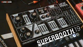 Dreadbox NYX2 - парафонический аналоговый синтезатор (Superbooth19)
