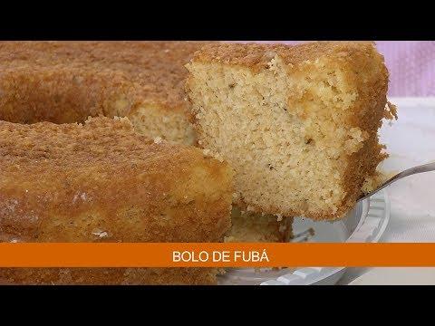 BOLO DE FUBÁ
