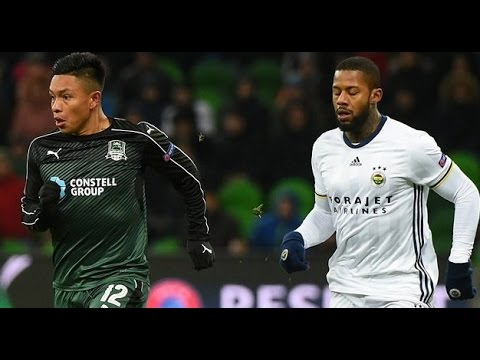Cristian Ramirez Vs  Fenerbache | HOME | Individual Highlights  16/02/2017