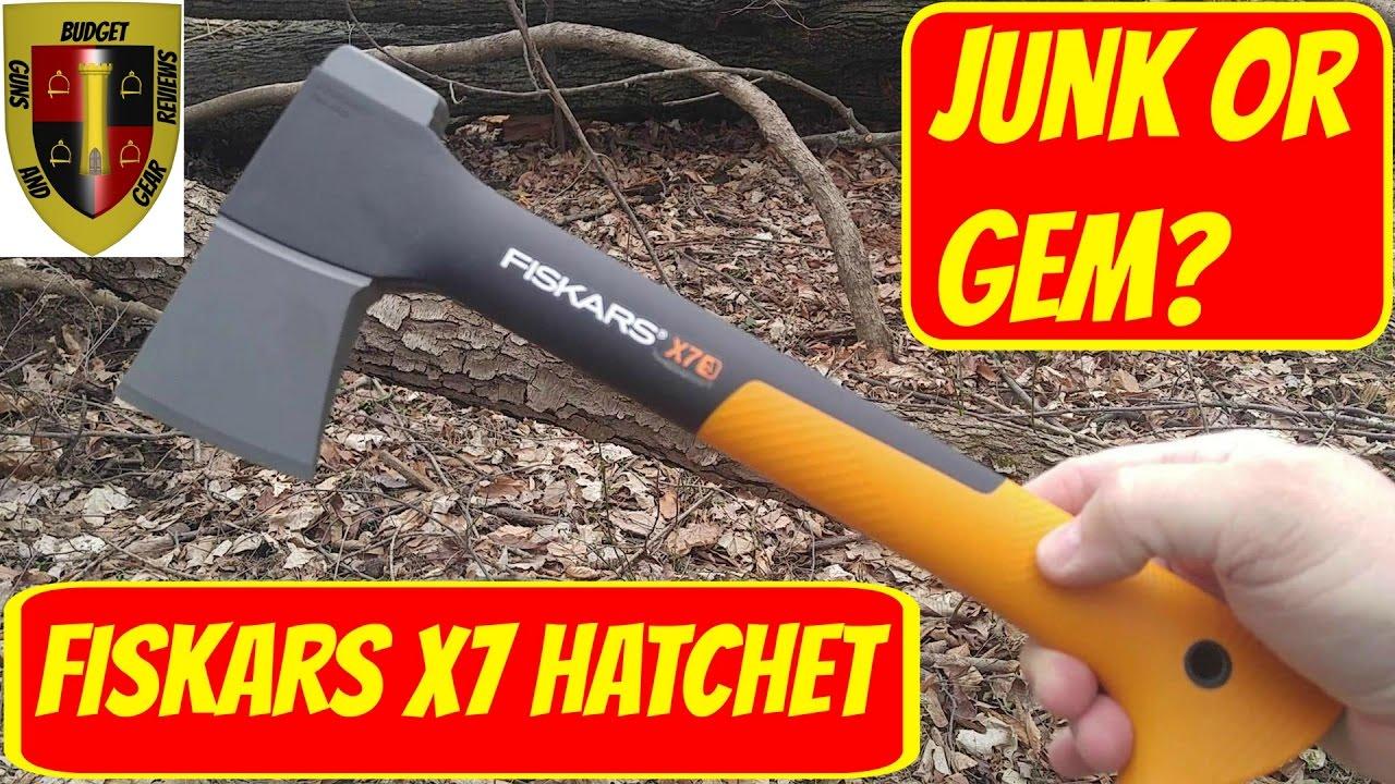 Fiskars X7 Hatchet Review