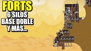 BASE CON 6 SILOS... Y MÁS PARTIDAS - FORTS | Gameplay Español