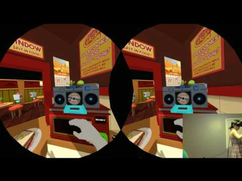 Virtual Reality - Guest Star Jessica plays Job Simulator and Apollo 11 VR