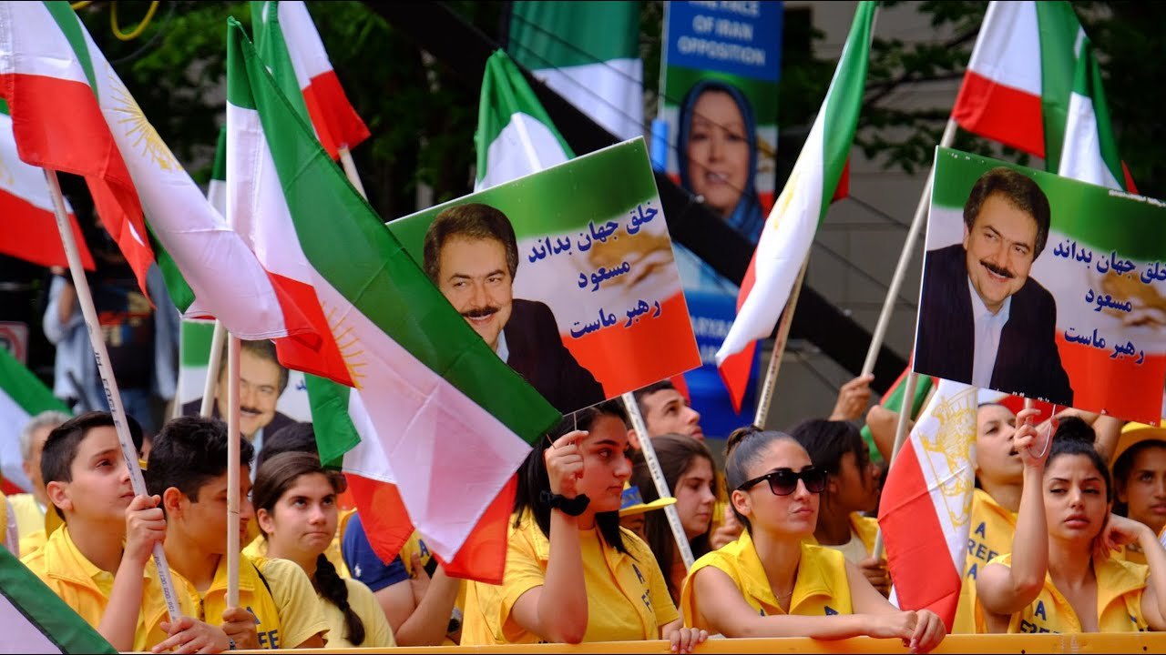 MEK's 'Free Iran' rally outside the White House - June 21, 2019