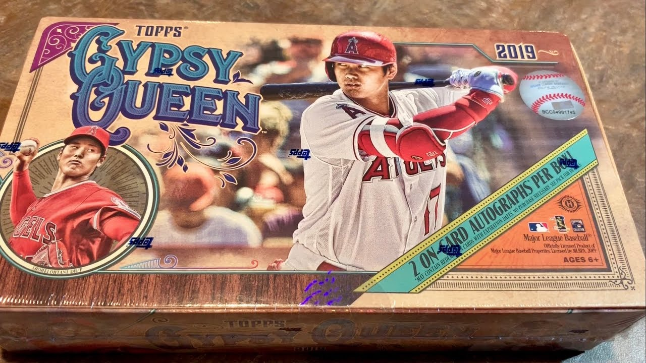 New Release 2019 Topps Gypsy Queen Box Opening