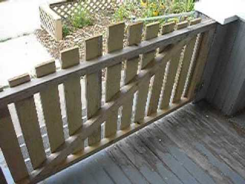railing front porch gates your amazing deck vinyl the gate design home best for