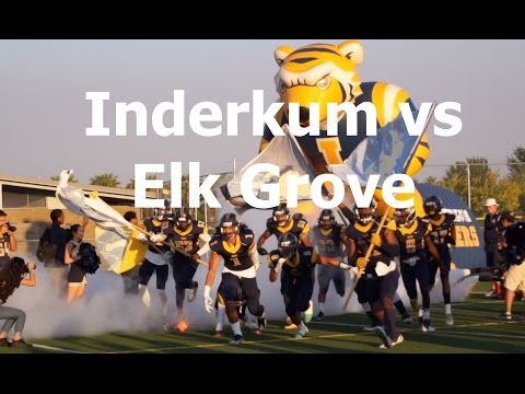 Inderkum vs Elk Grove, V FB 2016