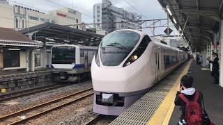 JR東日本常磐線E657系[特急]ときわ55号離站(水戸)