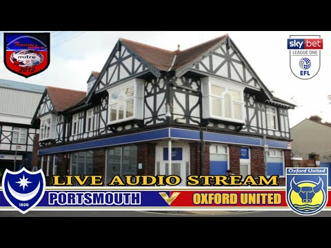 PORTSMOUTH 3 OXFORD UNITED 0 | SKY BET LEAGUE ONE | LIVE AUDIO STREAM 25/04/2018
