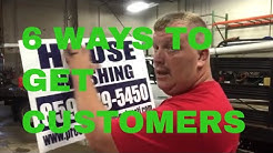 6 WAYS TO GET CUSTOMERS FOR YOUR SERVICE BUSINESS