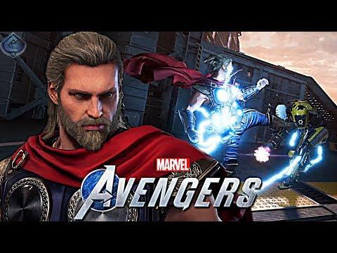 Marvel's Avengers Game - NEW Thor Gameplay!