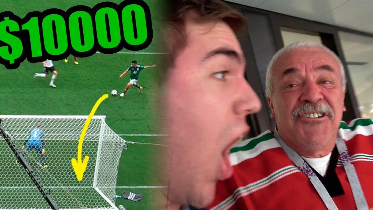 ENTRADA de 10,000 DOLARES al MUNDIAL!! Reacción MEXICO VS ALEMANIA 1-0