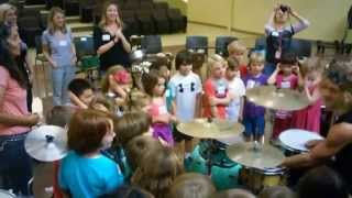 Show & Tell Free to be me drum Circle/Kool Kid Drummers,after,school.Prog.