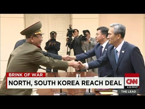 North, South Korea reach agreement to de-escalate tensions