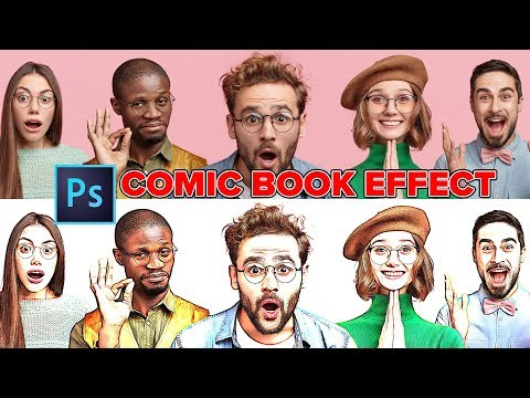 How to turn a picture into a cartoon in photoshop cs6