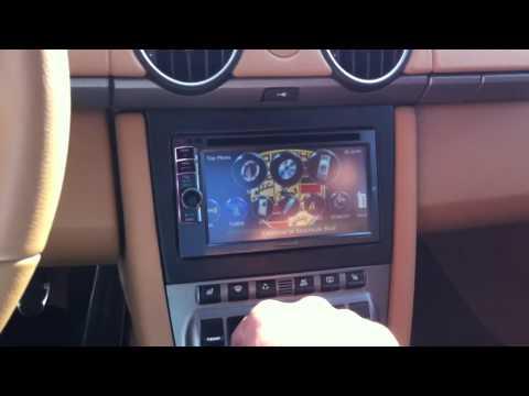2008 Porsche Cayman Double Din Radio Install