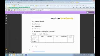 Regulatory Document Management with Microsoft SharePoint 2010 and NextDocs (3 of 3)