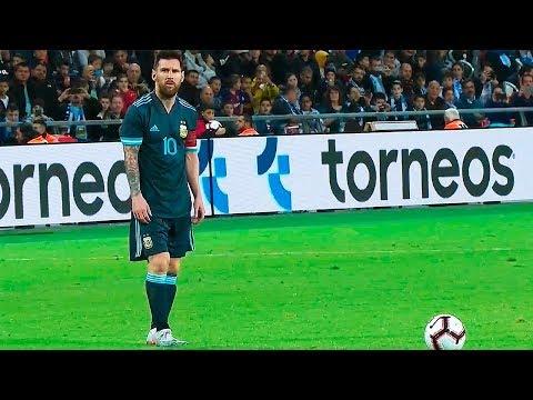 Lionel Messi vs Uruguay 18/11/2019 HD