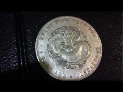 My Antique Chinese Silver Dragon Dollar Unboxing
