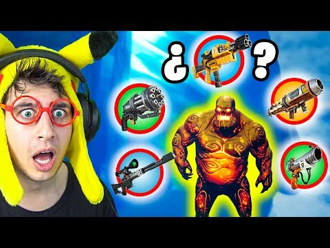**ONLY ZOMBIE LOOT** CHALLENGE en Fortnite Battle Royale! (RETO ganar looteando sólo zombies)