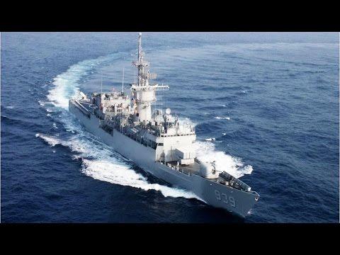 Mannequin Challenge - Taiwan Navy 中華民國海軍「假人挑戰」濟陽級巡防艦 FF-939 宜陽艦 2017春節 諾克斯級 Knox class frigate