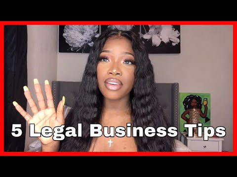 5 LEGAL (LIPGLOSS) BUSINESS TIPS YOU MUST KNOW!! | Lou xoxo