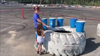 Vlog #35 Terrain Race MINI MONKEY & Water Fun!