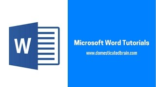 Microsoft Word Tutorials - Tips and Tricks 01
