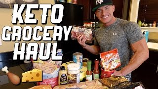 Keto Diet Grocery Haul | High Fat & Low Carb