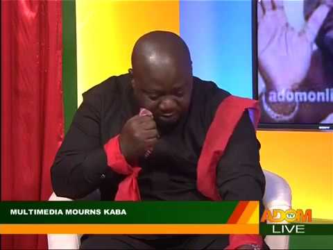 Multimedia Mourns KABA - Badwam on Adom TV (20-11-17)